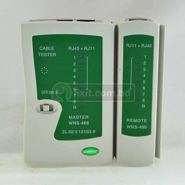 Network Cable Tester RJ45 RJ11 RJ12 UTP LAN Cable Tester Networking Tool Wynn's Brand