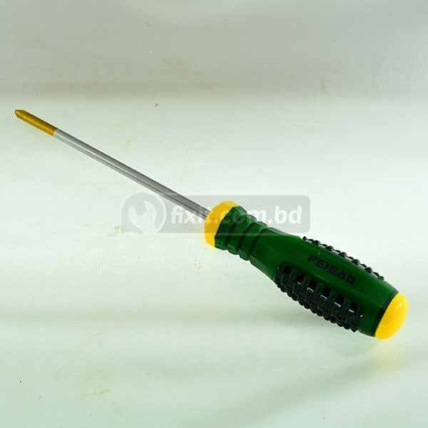 6 Inch 250mm Star Head Screw Driver with Rubber Handle Feibao Brand Model HS-6038