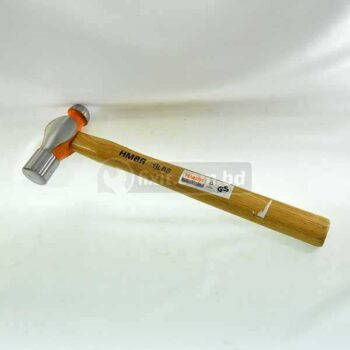 1.5 Lbs Ball Peen Hammer with Wooden Handle HMBR Brand -fixit.com.bd