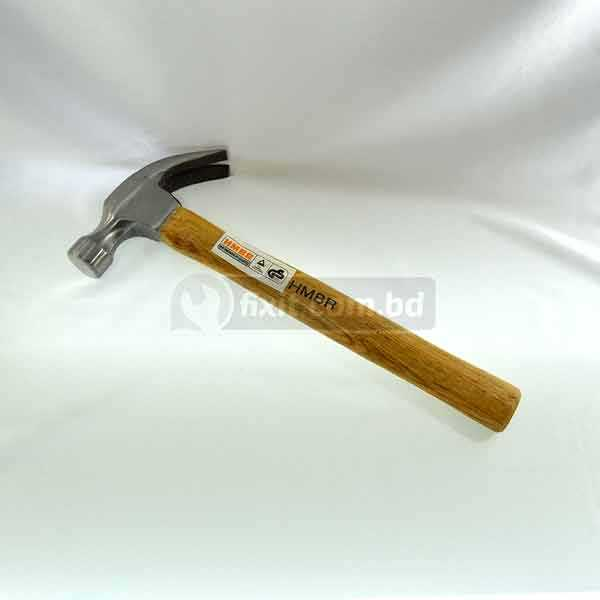 16 Oz Claw Hammer with Wooden Handle HMBR Brand