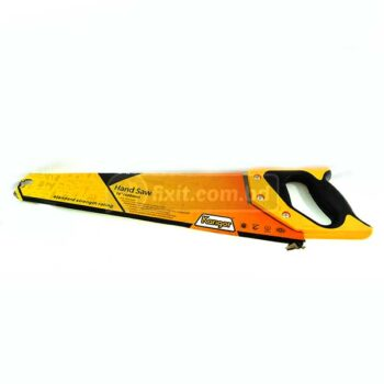 16 Inch Hand Saw with Rubber & Plastic Handle Karigor Brand