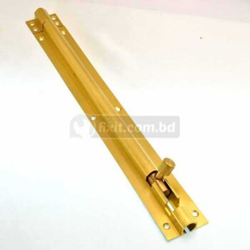 12 Inch Length Golden Color Stainless Steel Tower Bolt (Chitkani) Euro Brand