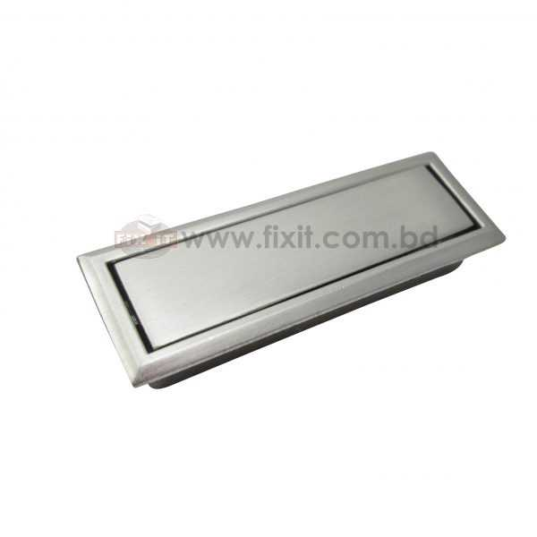 4 Inch Stainless Steel Aluminium Silver Color Furniture Handle