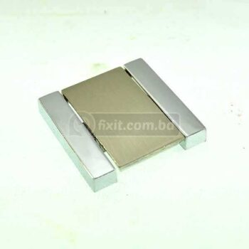 3 Inch Aluminum Silver Color Furniture Hollow Cabinet Handle