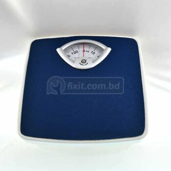 Navy Blue Color Analog Bathroom Weight Scale