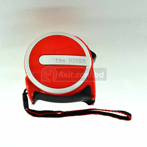 5Meter Stainless Steel Measuring Tape Red Color HMBR Brand