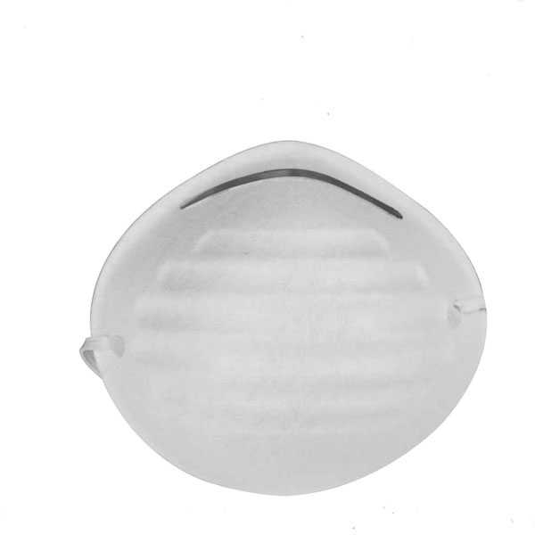 White Color Fabric Dust Mask Total Brand TSP403