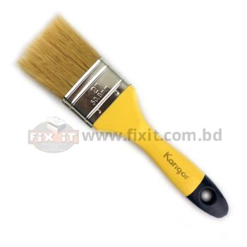 2 Inch Brown Color Synthetic/Chinese bristle Paint Brush Karigor Brand