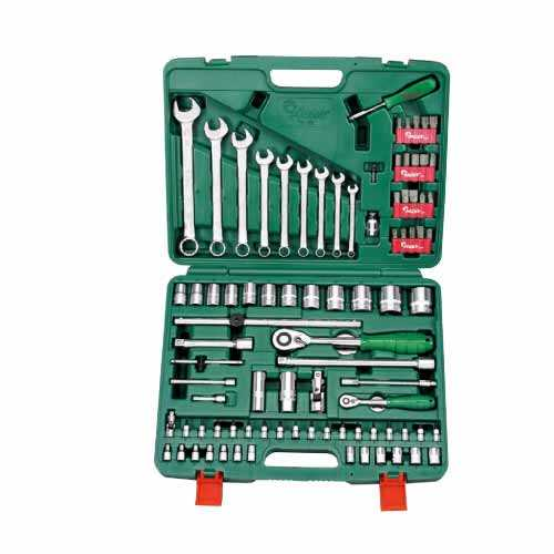 1/4 Inch 1/2 Inch dr. 89pcs Professional Tool Kit Hans Brand