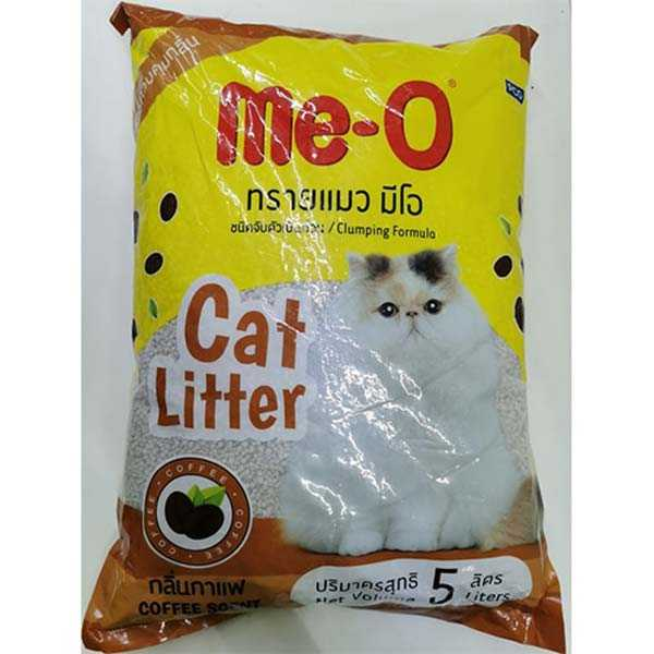 10L Me-O Clumping Cat Litter – Coffee Scent