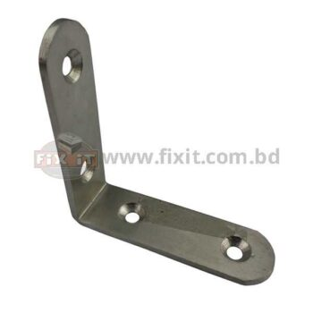 2.50 Inch Stainless Steel Angle Bracket - Best Quality in BD - fixit.com.bd