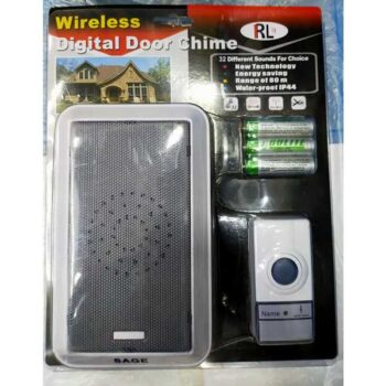 Digital Wireless Door bell Malaysia Brand Easy Installation with 3pcs AA Batteries