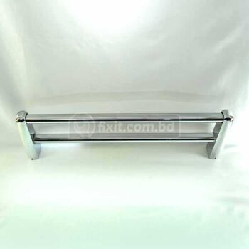 18 Inch Stainless Steel Double Towel Rail Straight Design