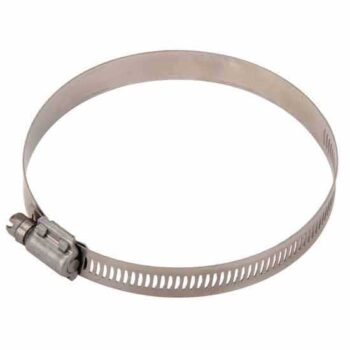 4 Inch Metal Hose Clamp (Fit Rubber Pipes with Garden Taps)