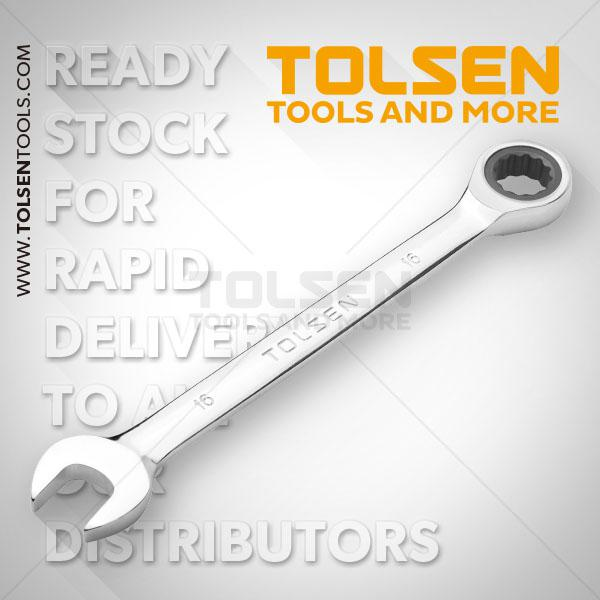32mm Fixed Combination Ratchet Spanner Tolsen Brand in BD