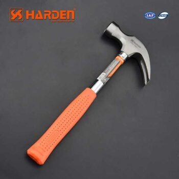 500gm/ 16 OZ Carbon Steel Claw Hammer With Tubular Handle Harden Brand 590211