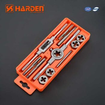 12Pcs Professional Tap And Die Set Harden Brand 610457