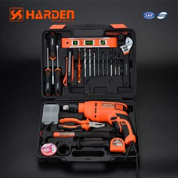 550W 3000rpm Multi-Functional Electric Impact Drill Machine with 36pcs Accessories Harden Brand 510836