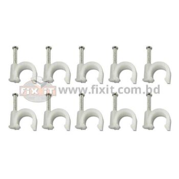 0.50 inch Cable Clip with Pre-Installed Nail