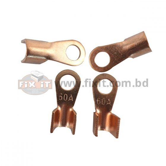 60 Ampere Copper Metal Cable Lugs