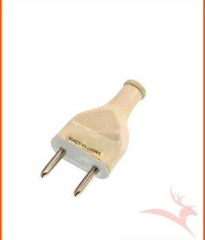 2 Round Pin 10 Ampere 250V Round Plug MK Brand