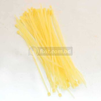 6 Inch 100 Pcs Packet Off White Color Cable Tie