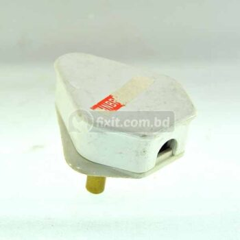 220V 16A White Color 3 Round Pin Electric Socket