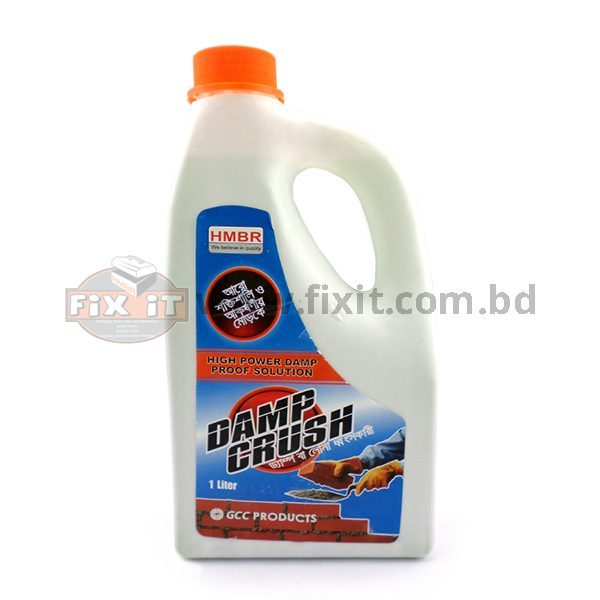 1 Liter Damp Crush HMBR Brand for Removing Salination in Bricks to avoid Mold Formation