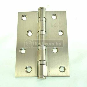 4 Inch  x 3mm Thickness Solid Brass Stainless Steel Door Hinge VEKS Brand