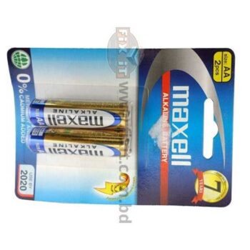 1.5 Volts AA Size Alkaline Battery Maxell Brand