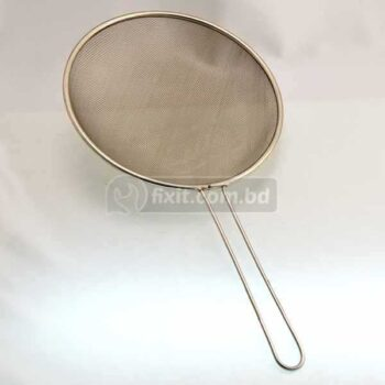 12 Inch Stainless Steel Wire Strainer for Tea  Juice & Pasta