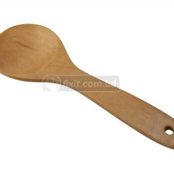 10 Inch High Quality Rounded Wooden Spoon