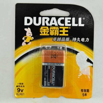 1 Pcs Packet 9 Volts Rechargeable Battery Duracell Brand