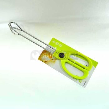 10 Inch Stainless Steel Scissor Tong with Plastic Handle