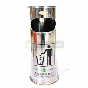 30 inch Stainless Steel Color Dustbin for Cigerette