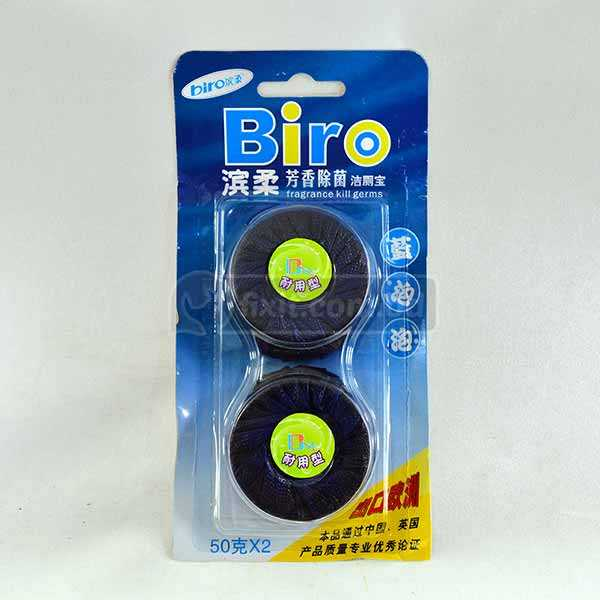 2 Pcs Packet Blue Color Commode Cistern Tablet Kill Germs Biro Brand