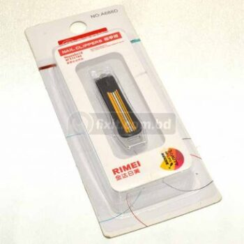 2 Inch Black and Yellow Color Stainless Steel Fancy Nail Cutter Rimei Brand
