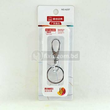 Stainless Steel Key Holder with Key Ring Rimei Brand A237