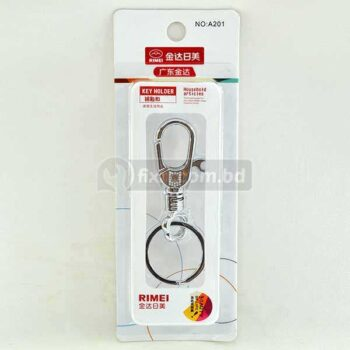 2.5 Inch Stainless Steel Key Holder with Key Ring Rimei Brand A201
