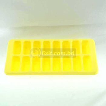 Yellow Color Plastic Ice Making Box Cube Shaped Ice
