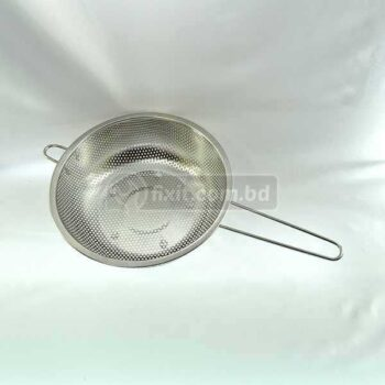 Stainless Steel Strainer with Handle Heavy Duty for Washing Vegetables  Salad and More
