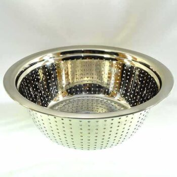 Small Size Stainless Steel Bowl Strainer Heavy Duty