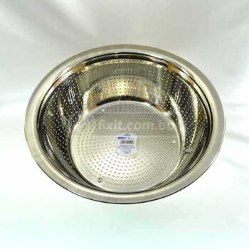 Extra Large Size Stainless Steel Bowl Strainer Heavy Duty