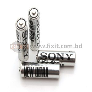 2 Pcs Packet 1.5 Volts AA Size Sony Super Battery