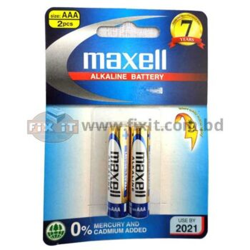 1.5 Volts AAA-Size Alkaline Battery Maxell Brand