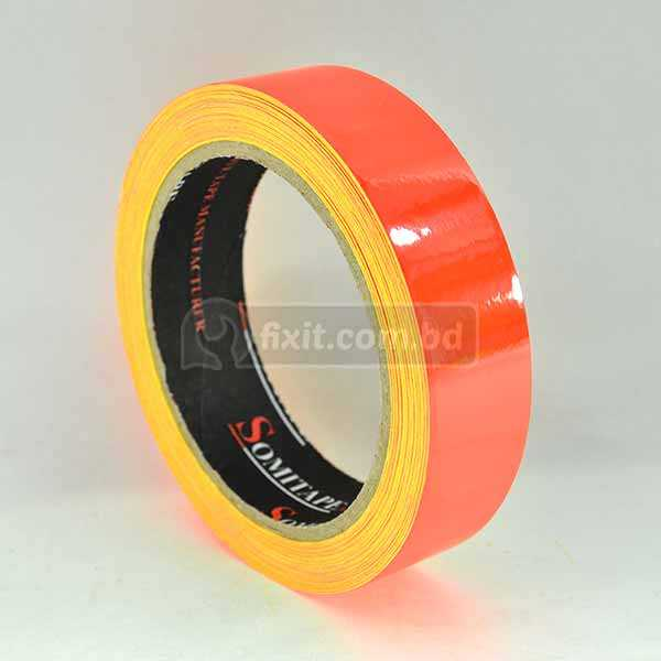 1 Inch Blue Fluorescent Adhesives Tape