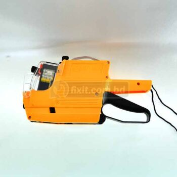 Yellow Retail Pricing Labeler Handheld Sticker Machine for fast Price Tagging