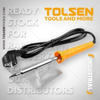 60W Industrial Soldering Iron with LED Indicator Tolsen Brand 38062