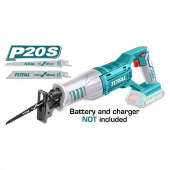 20V Lithium-Ion without battery and Charger Reciprocating Saw Total Brand TRSLI1151