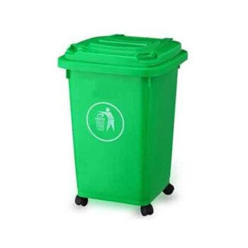 50 Liter Dustbin Green Color Recycling bin for Household & Industrial Use